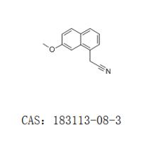 2-(7-甲氧基萘-1-基)乙腈