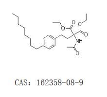 2-乙酰氨基-2-(4-辛基苯乙基)丙二醇二乙酯