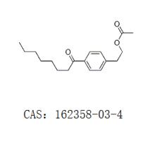乙酸-[2-(4-辛酰基苯基)]乙酯