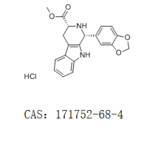 顺式-(1R,3R)-1,2,3,4-四氢-1-(3,4-亚甲二氧基苯基)-9H-吡啶并[3,4-B]吲哚-3-羧酸甲酯盐酸盐